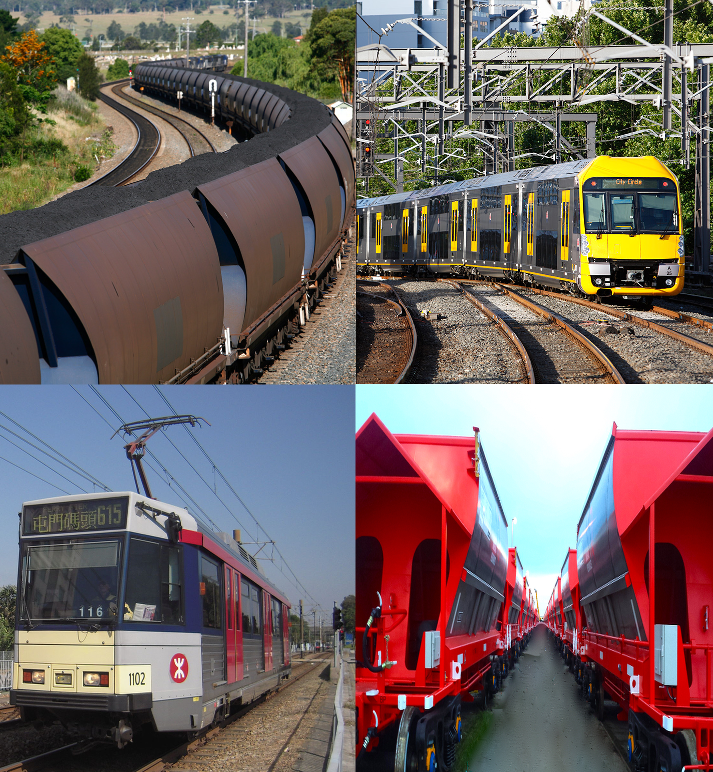 Rail projects