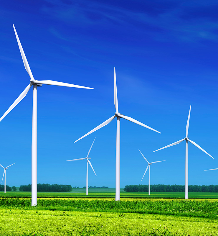 industrial wind turbine